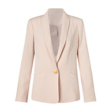Buy Miss Selfridge Button Detail Jacket, Stone Online at johnlewis.com