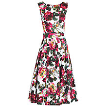 Buy Jolie Moi Floral Print Prom Dress, Pink Online at johnlewis.com