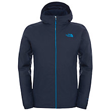 Buy The North Face Quest Insulated Men's Waterproof Jacket, Navy Online at johnlewis.com