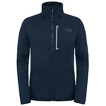 Buy The North Face Canyonlands Full-Zip Men's Fleece, Navy/Heather Online at johnlewis.com