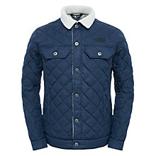 Buy The North Face Sherpa Thermoball Men's Jacket, Navy Online at johnlewis.com