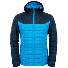 Buy The North Face Thermoball Hooded Men's Jacket, Blue Online at johnlewis.com