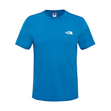 Buy The North Face Simple Dome T-Shirt, Blue Online at johnlewis.com