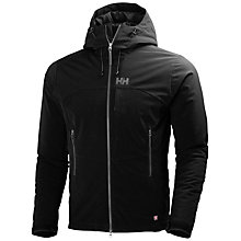 Buy Helly Hansen Paramount Insulated Softshell Men's Parka Jacket, Black Online at johnlewis.com