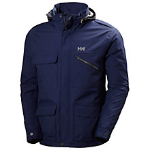 Buy Helly Hansen Universal Moto Waterproof Insulated Men's Rain Jacket, Navy Online at johnlewis.com