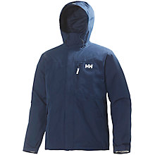 Buy Helly Hansen Squamish CIS Men's Waterproof Jacket, Navy Online at johnlewis.com