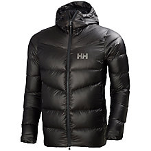 Buy Helly Hansen Icefall Down Insulated Men's Jacket, Ebony Online at johnlewis.com