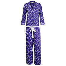 Buy Cyberjammies Dandelion Shower Pyjama Set, Blue/Multi Online at johnlewis.com