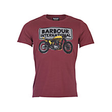 Buy Barbour International Sketch T-Shirt Online at johnlewis.com