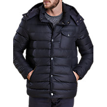 Buy Barbour Cowl Quilt Jacket, Navy Online at johnlewis.com
