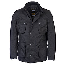 Buy Barbour International Crank Waxed Jacket Online at johnlewis.com