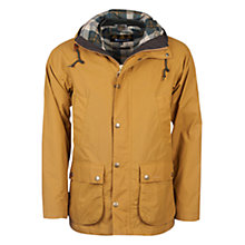 Buy Barbour Hooded Bedale Jacket, Yellow Online at johnlewis.com