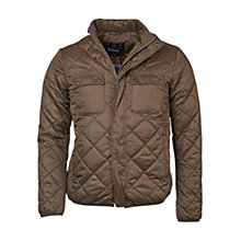 Buy Barbour International Fairing Quilted Jacket, Olive Online at johnlewis.com