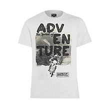 Buy Barbour International T-Shirt, Ice Marl Online at johnlewis.com