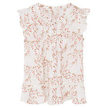 Buy Mango Kids Girls' Printed Boho Blouse, Multi Online at johnlewis.com