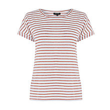 Buy Warehouse Stripe Breton T-Shirt Online at johnlewis.com
