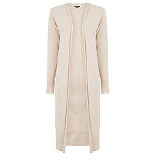 Buy Warehouse Slim Fit Cardigan, Cream Online at johnlewis.com