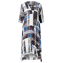 Buy Kin by John Lewis City Scape Print Long Dress, Blue Online at johnlewis.com