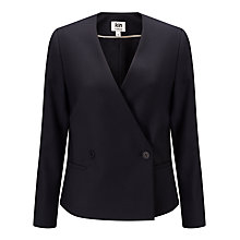 Buy Kin by John Lewis Double Breasted Jacket, Navy Online at johnlewis.com
