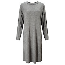 Buy Kin by John Lewis Reverse Seam Dress, Grey Online at johnlewis.com
