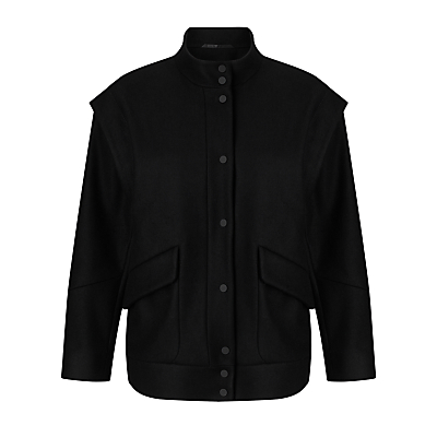 Kin by John Lewis Bomber Jacket, Black