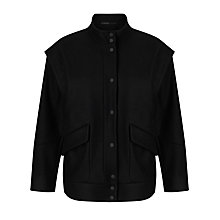 Buy Kin by John Lewis Bomber Jacket, Black Online at johnlewis.com