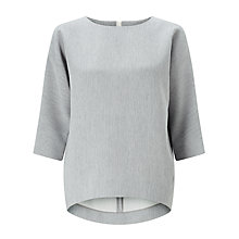 Buy Kin by John Lewis Textured Ponte Cocoon Top Online at johnlewis.com
