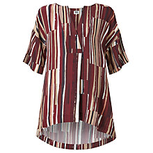 Buy Kin by John Lewis Painted Lines Oversized Top, Multi Online at johnlewis.com