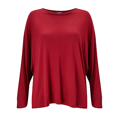 Kin by John Lewis Batwing T-Shirt, Red
