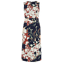 Buy Warehouse Floral Print Wrap Dress, Multi Online at johnlewis.com