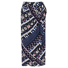 Buy Warehouse Patchwork Print Skirt, Multi Online at johnlewis.com