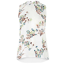 Buy Warehouse Vintage Floral Top, Multi Online at johnlewis.com