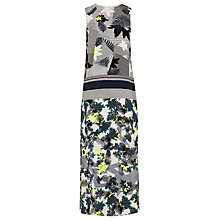 Buy Warehouse Abstract Palm Print Dress, Multi Online at johnlewis.com