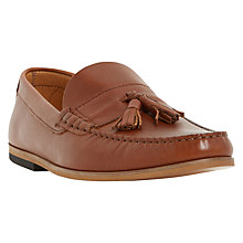 Buy Dune Berkeley Leather Loafer, Tan Online at johnlewis.com