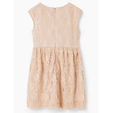Buy Mango Kids Girls' Blond Gown, Pastel Pink Online at johnlewis.com