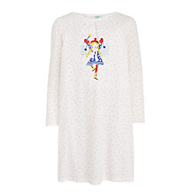 Buy John Lewis Girls' Fairy Nightdress, Cream Online at johnlewis.com