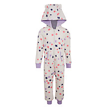 Buy John Lewis Children's Galactica Stars Onesie, Multi Online at johnlewis.com