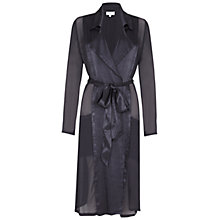 Buy Ghost Gwyneth Trench Coat, Charcoal Online at johnlewis.com
