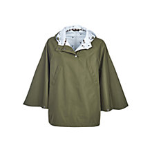 Buy Barbour Brae Waterproof Poncho, Seaweed Online at johnlewis.com