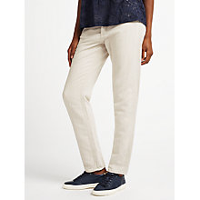 Buy Samsoe & Samsoe Lisa Boyfriend Fit Jeans, Natural Online at johnlewis.com