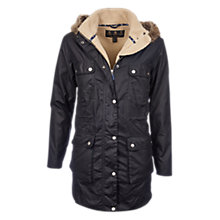 Buy Barbour Carribena Waxed Jacket Online at johnlewis.com