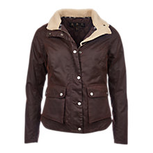 Buy Barbour Cushalt Waxed Jacket, Rustic Online at johnlewis.com