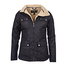 Buy Barbour Howman Waxed Jacket Online at johnlewis.com
