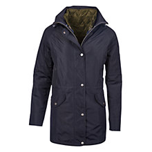 Buy Barbour Winter Trevose Waterproof Jacket, Navy Online at johnlewis.com