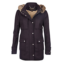 Buy Barbour Fendorf Wool-Blend Jacket, Navy Online at johnlewis.com