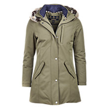 Buy Barbour Epler Waterproof Breathable Jacket, Seaweed Online at johnlewis.com