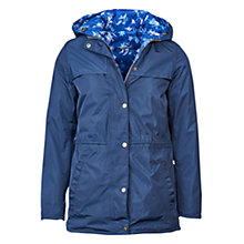 Buy Barbour Frances Reversible Waterproof Jacket, Navy Online at johnlewis.com