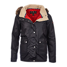 Buy Barbour Crevasse Waxed Jacket Online at johnlewis.com