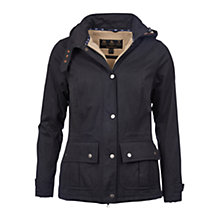 Buy Barbour Convey Jacket, Navy Online at johnlewis.com