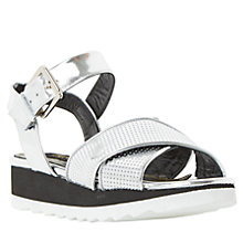 Buy Dune Black Luissa Flatform Sandals Online at johnlewis.com